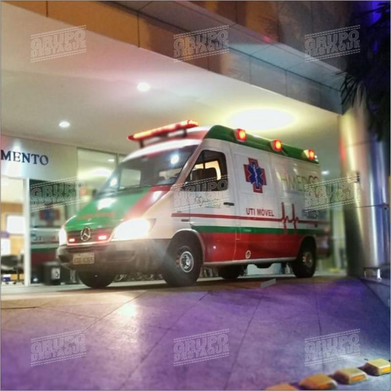 Adesivagem de ambulância